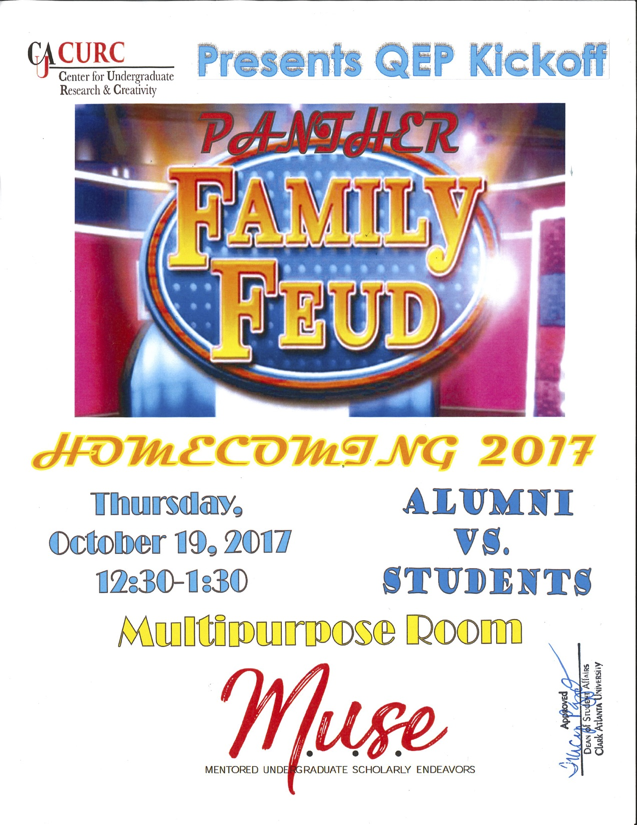 Family Feud Flyer